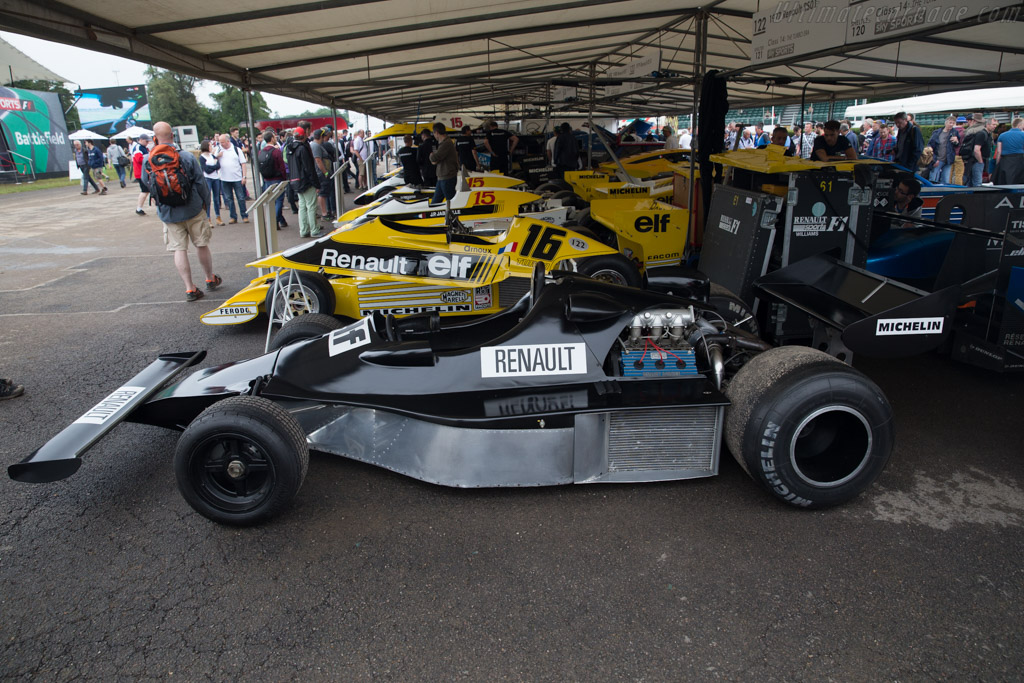Renault Alpine A500  - Entrant: Renault Classic  - 2016 Goodwood Festival of Speed