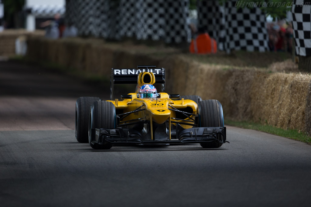 Renault E20  - Driver: Jolyon Palmer  - 2016 Goodwood Festival of Speed