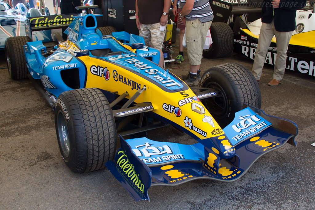 Renault R25 - Chassis: R25-07 - Entrant: Renault Classic  - 2016 Goodwood Festival of Speed