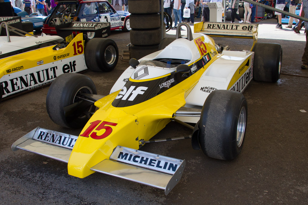 Renault RE20 - Chassis: RE22 - Entrant: Renault Classic  - 2016 Goodwood Festival of Speed