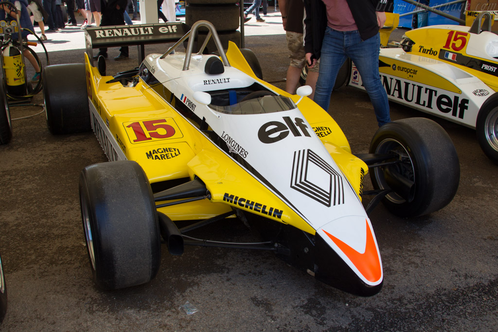Renault RE30B - Chassis: RE30B9 - Entrant: Renault Classic  - 2016 Goodwood Festival of Speed