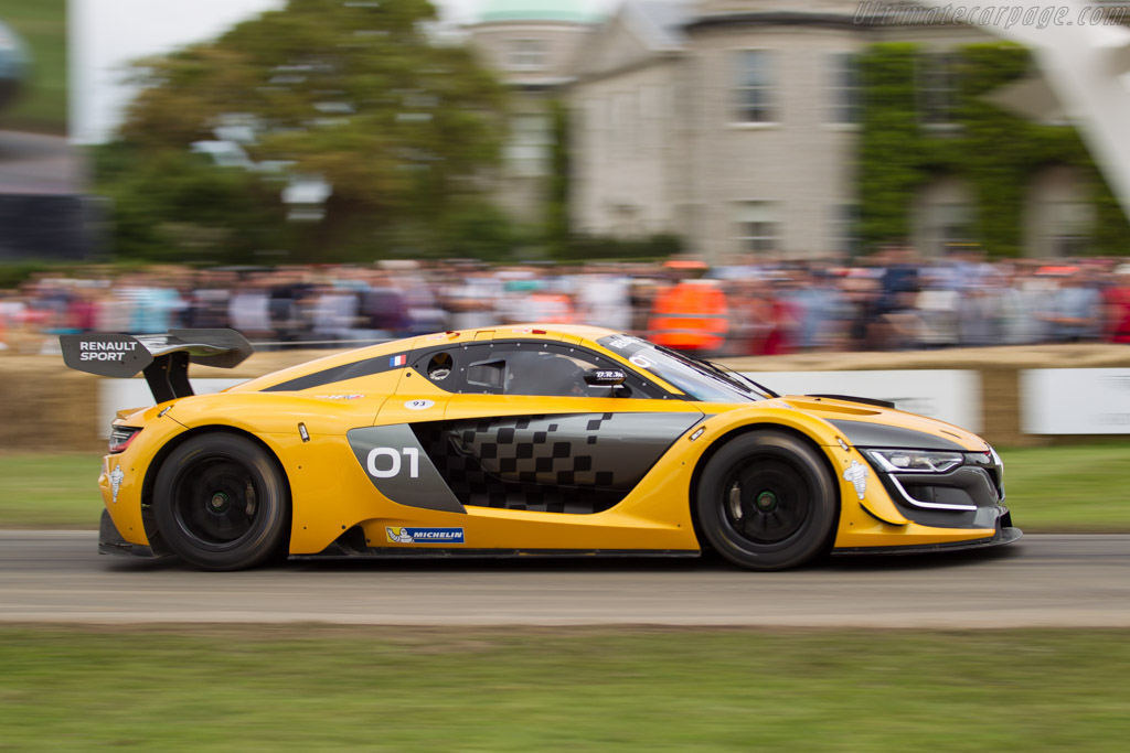 Renault RS01  - Driver: Laurent Hurgon  - 2016 Goodwood Festival of Speed