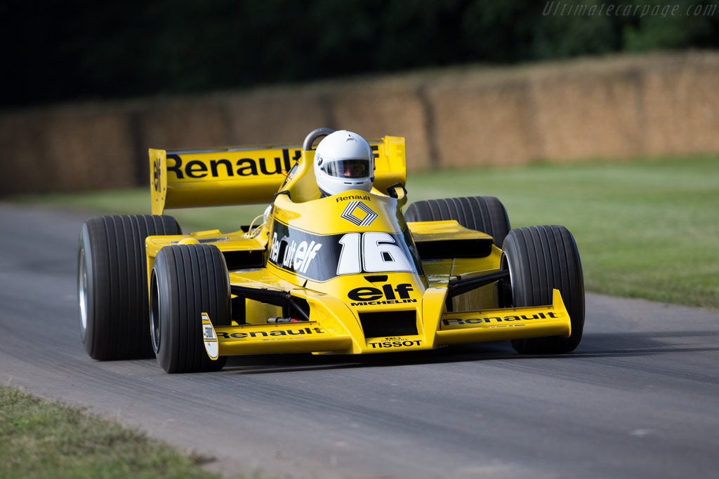 Renault RS01 - Chassis: RS 01/04 - Entrant: Renault Classic - Driver: Rene Arnoux  - 2016 Goodwood Festival of Speed
