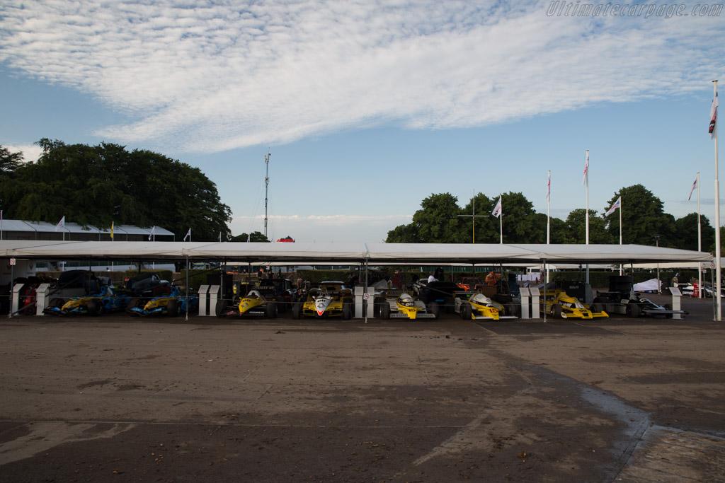 Renault Turbos    - 2016 Goodwood Festival of Speed