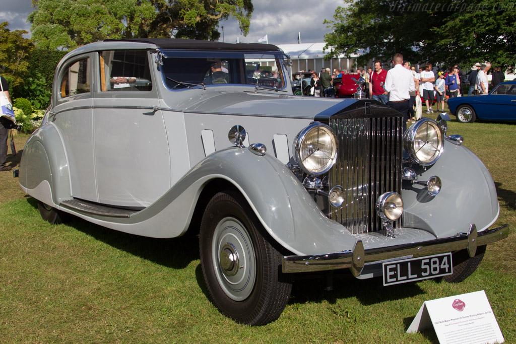 Rolls-Royce Phantom III Gurney Nutting Sedanca de Ville - Chassis: 3CP62 - Entrant: Anthony Bentley  - 2016 Goodwood Festival of Speed