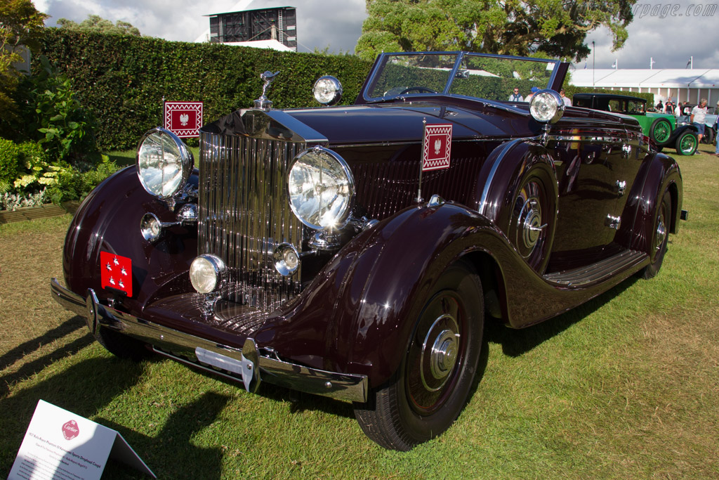 Rolls-Royce Phantom III Vanvooren Sports Drophead Coupe - Chassis: 3CM81 - Entrant: Anthony Bamford  - 2016 Goodwood Festival of Speed