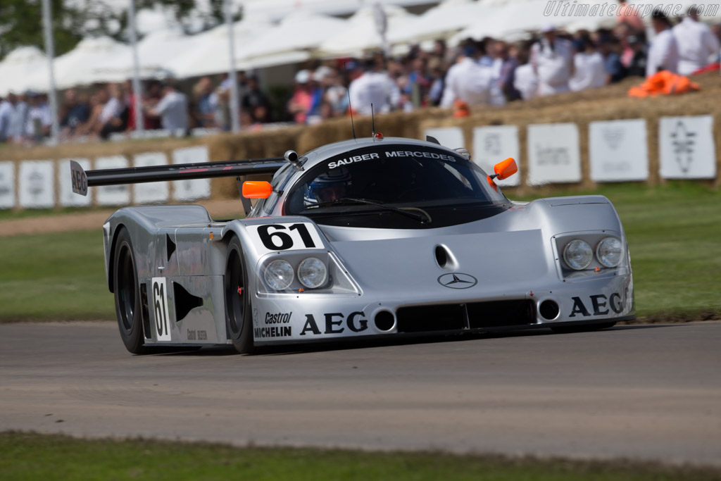 Sauber-Mercedes C9 - Chassis: 88.C9.04 - Entrant: Mercedes-Benz Classic - Driver: Jochen Mass  - 2016 Goodwood Festival of Speed
