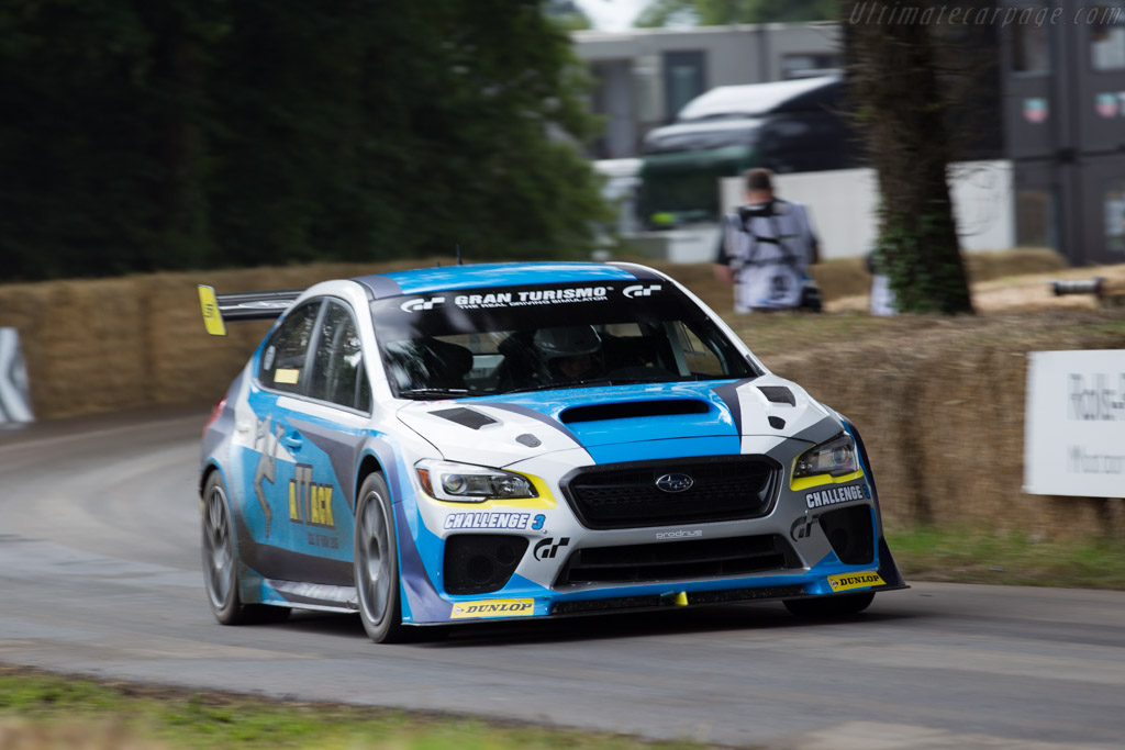 Subaru Impreza WRX STI - Chassis: S16-12A-001 - Entrant: Ray Derry - Driver: Mark Higgins  - 2016 Goodwood Festival of Speed