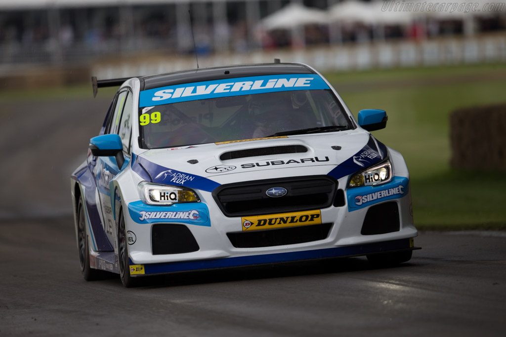 Subaru Levorg  - Driver: Jason Plato  - 2016 Goodwood Festival of Speed