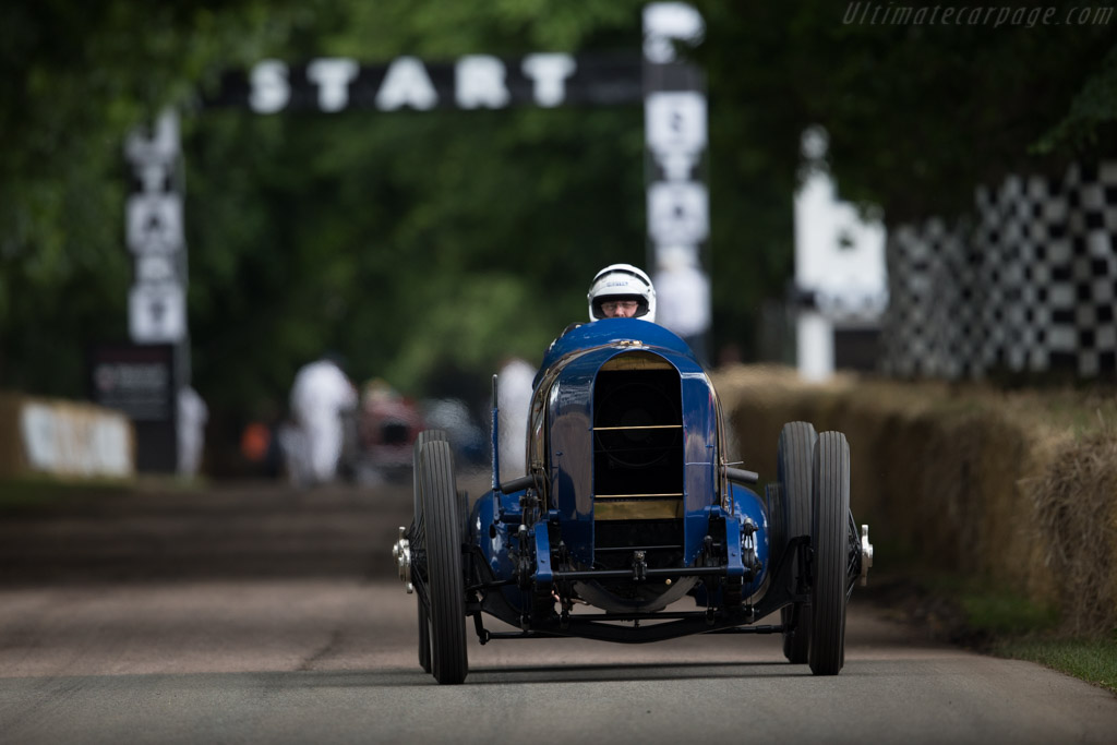 Sunbeam 350hp - Chassis: 1 - Entrant: National Motor Museum - Driver: IanStanfield  - 2016 Goodwood Festival of Speed