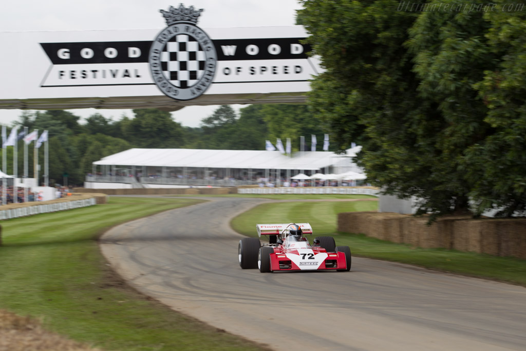 Surtees TS9B Cosworth - Chassis: TS9-006 - Driver: Rob Hall  - 2016 Goodwood Festival of Speed
