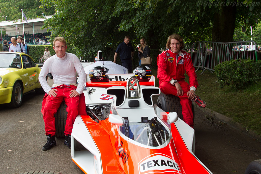Tom and Freddie Hunt    - 2016 Goodwood Festival of Speed