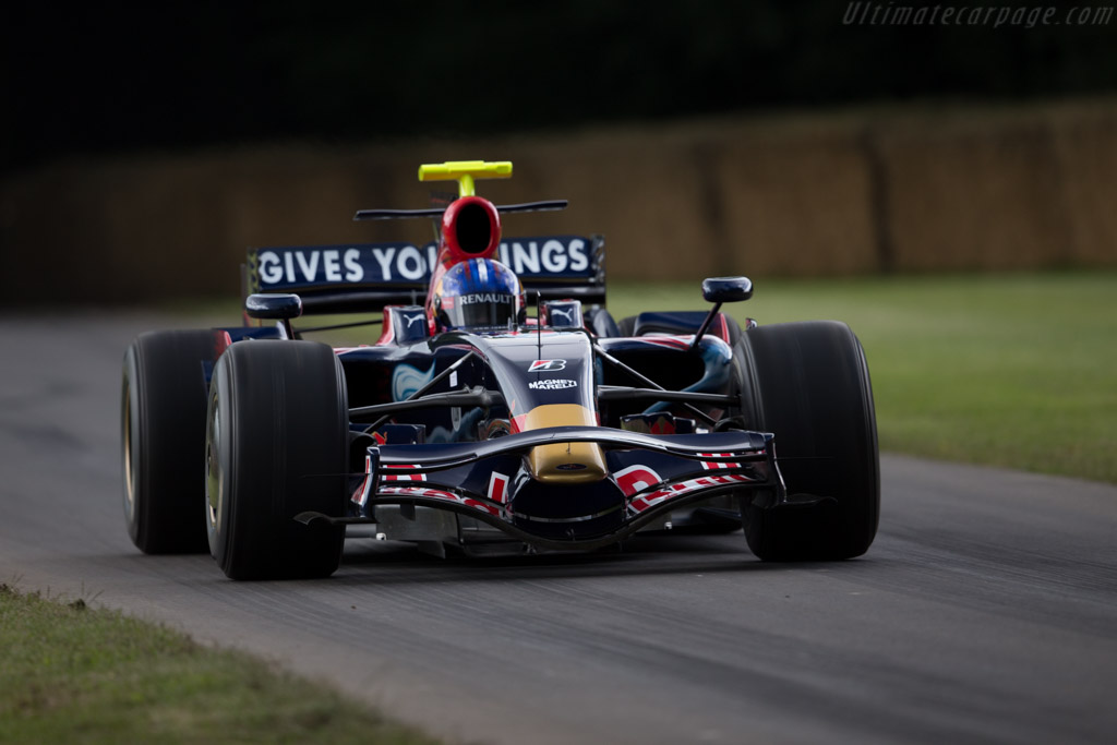 Toro Rosso STR03 Ferrari - Chassis: STR3-04 - Entrant: Gerhard Berger - Driver: Adrian Newey  - 2016 Goodwood Festival of Speed