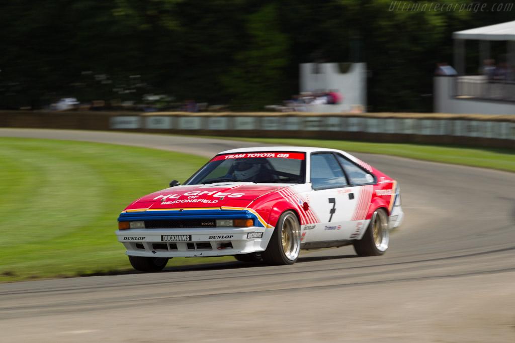 Toyota Supra Driver Nigel Garrett 2016 Goodwood