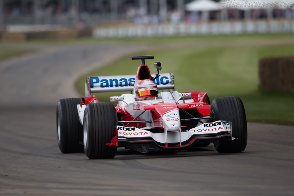 Toyota TF105 - Chassis: TF105-02 - Driver: Harald Fuchs  - 2016 Goodwood Festival of Speed