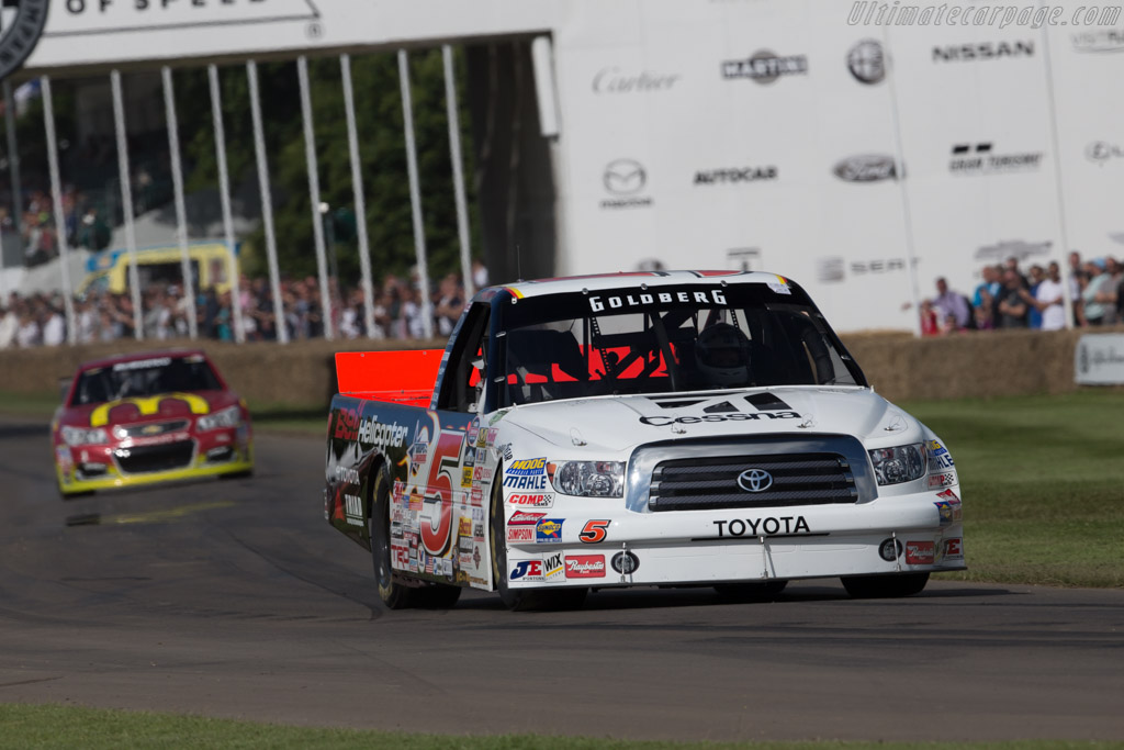 Toyota Tundra  - Entrant: Andrew Franzone - Driver: Bill Goldberg  - 2016 Goodwood Festival of Speed