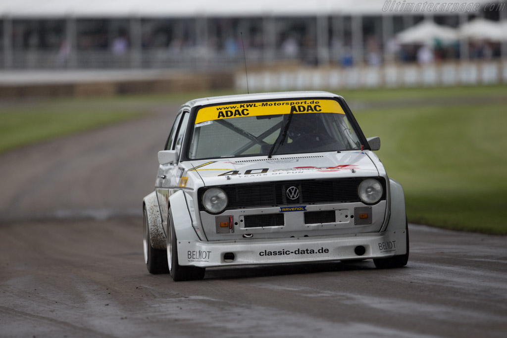 Volkswagen Golf 16S - Chassis: 1773321867 - Entrant: Volkswagen AG - Driver: Hans-Joachim Stuck  - 2016 Goodwood Festival of Speed