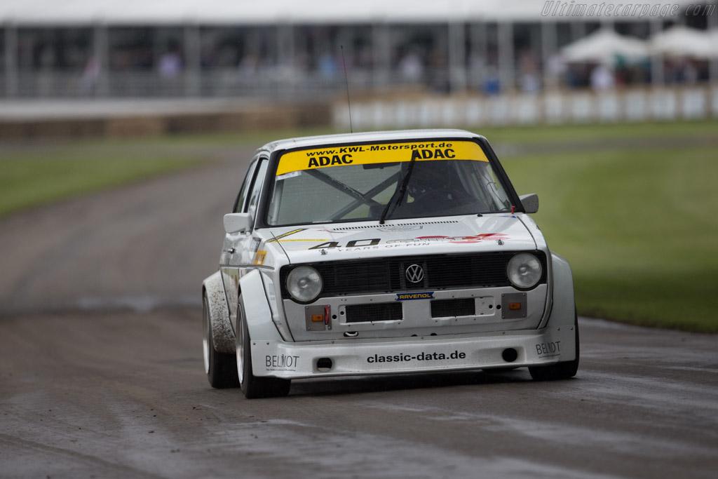 Volkswagen Golf 16S - Chassis: 1773321867 - Entrant: Volkswagen AG - Driver: Hans-Joachim Stuck  - 2016 Goodwood Festival of Speed