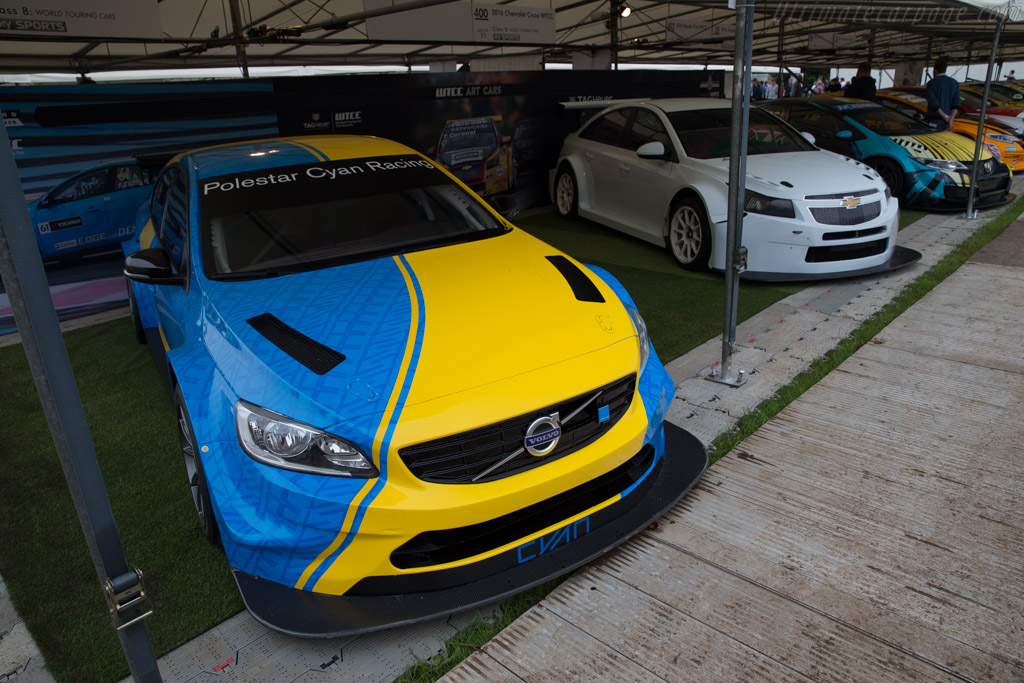 Volvo S60 Polestar WTCC  - Entrant: FIA WTCC  - 2016 Goodwood Festival of Speed
