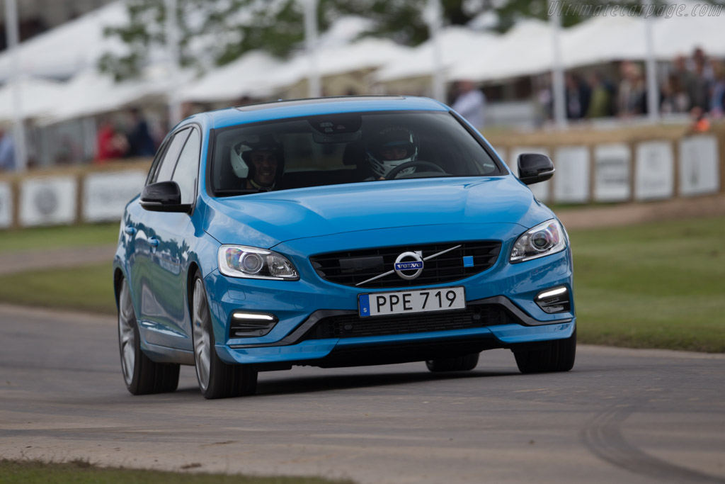 Volvo V60 Polestar    - 2016 Goodwood Festival of Speed