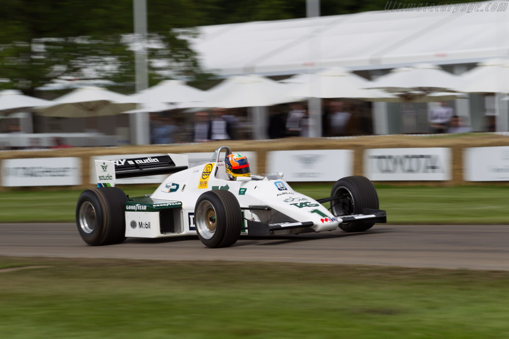 Williams FW08C Cosworth - Chassis: FW08-09 - Entrant: Williams F1 - Driver: Karun Chandhok  - 2016 Goodwood Festival of Speed