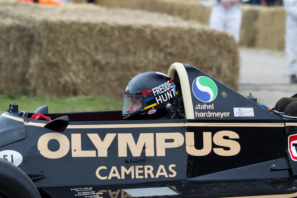 Wolf WR7 Cosworth - Chassis: WR7 - Entrant: Rudolf Raml - Driver: Freddie Hunt  - 2016 Goodwood Festival of Speed