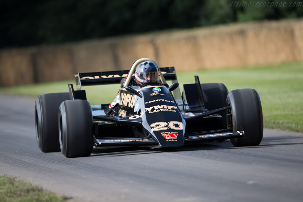 Wolf WR7 Cosworth - Chassis: WR7 - Driver: Rudolf Raml  - 2016 Goodwood Festival of Speed