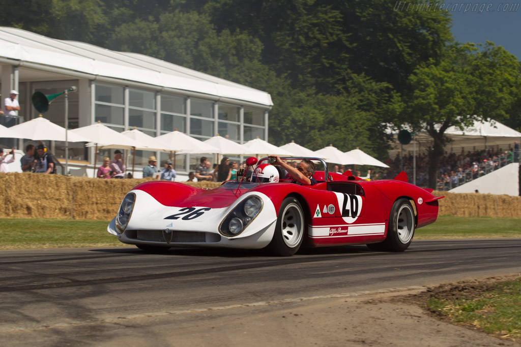 Alfa Romeo 33/3 Le Mans - Chassis: 75080-006 - Entrant: FCA Heritage - Driver: Giuseppe Bagli  - 2017 Goodwood Festival of Speed