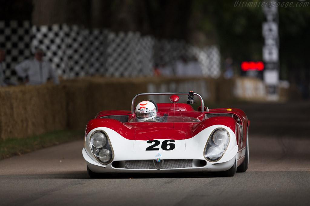 Alfa Romeo 33/3 Le Mans - Chassis: 75080-006 - Entrant: FCA Heritage - Driver: Giuseppe Bagli  - 2017 Goodwood Festival of Speed