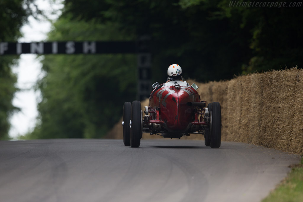 Alfa Romeo Tipo B - Chassis: 50007 - Entrant: Hugh Taylor - Driver: James Wood  - 2017 Goodwood Festival of Speed