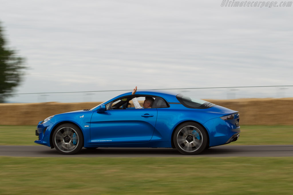 Alpine A110    - 2017 Goodwood Festival of Speed