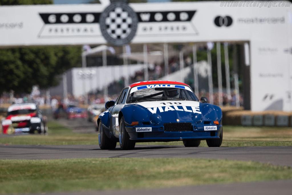 Alpine A110 - Chassis: 20377 - Driver: John Wheeler  - 2017 Goodwood Festival of Speed