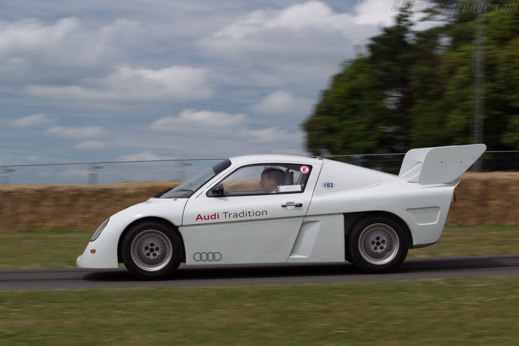 Audi Quattro RS002 - Chassis: 1 - Entrant: Audi Tradition - Driver: Hannu Mikkola  - 2017 Goodwood Festival of Speed