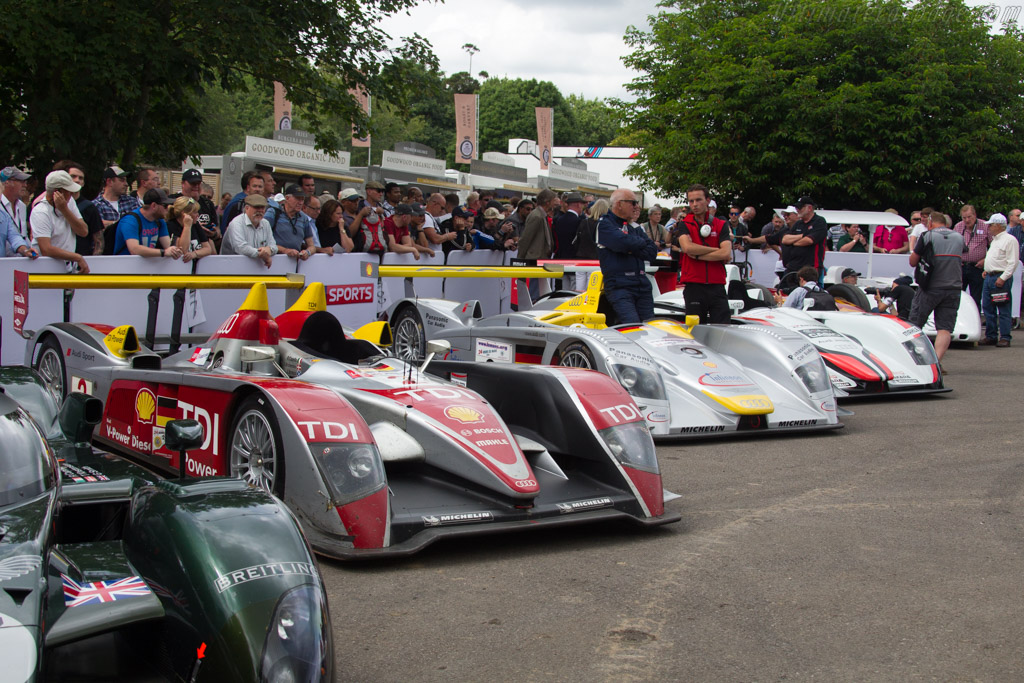Audi R10 TDI - Chassis: 204 - Entrant: Audi Tradition  - 2017 Goodwood Festival of Speed