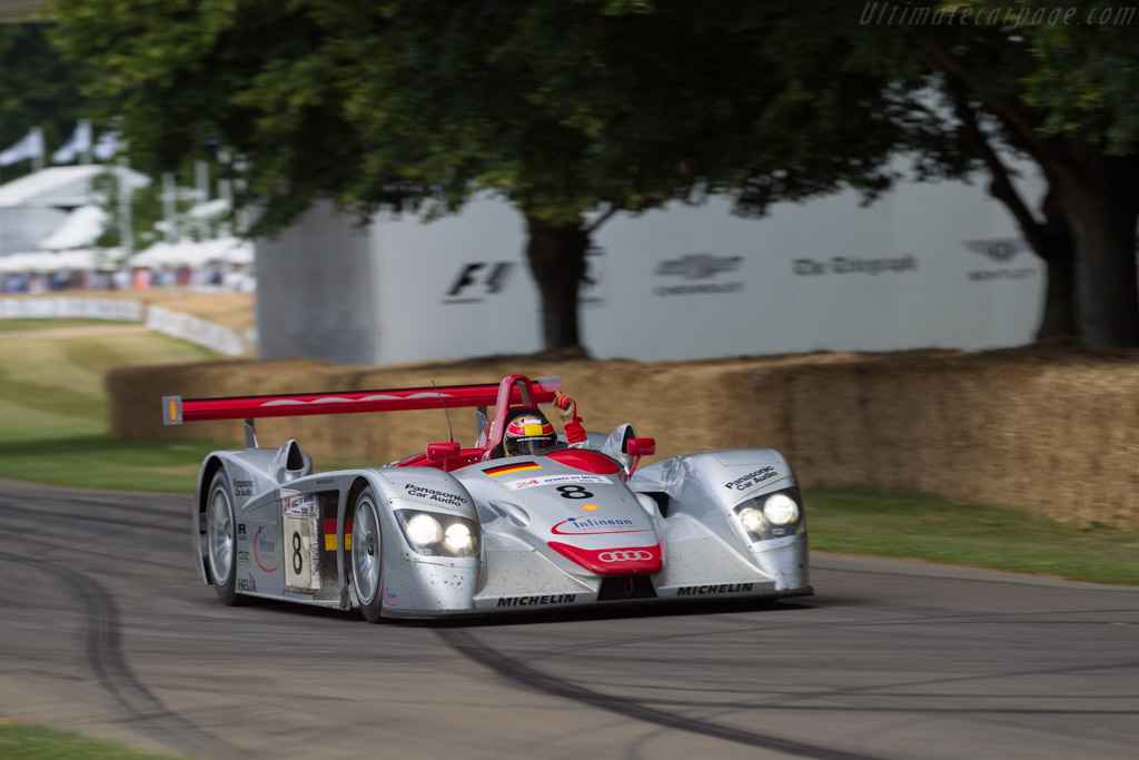 Audi R8 - Chassis: 404 - Entrant: Audi Tradition - Driver: Tom Kristensen  - 2017 Goodwood Festival of Speed