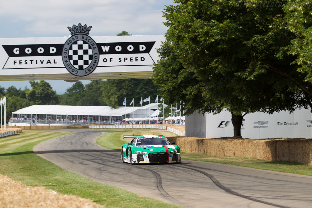 Audi R8 LMS GT3  - Entrant: Audi Tradition  - 2017 Goodwood Festival of Speed