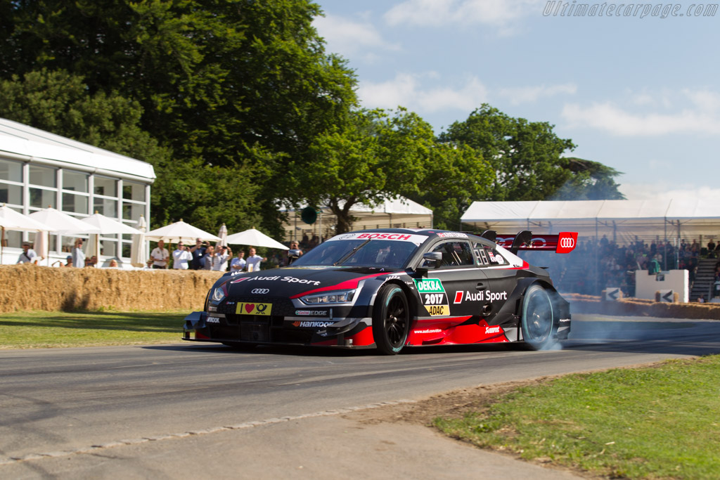 Audi RS5 DTM  - Entrant: Audi Tradition - Driver: Tom Kristensen  - 2017 Goodwood Festival of Speed