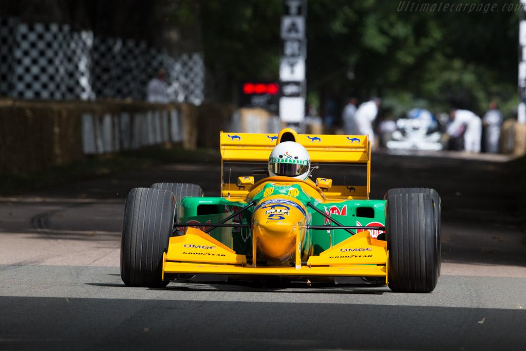 Benetton B193 Ford - Chassis: B193B-04 - Driver: Stephen Ottavianelli  - 2017 Goodwood Festival of Speed