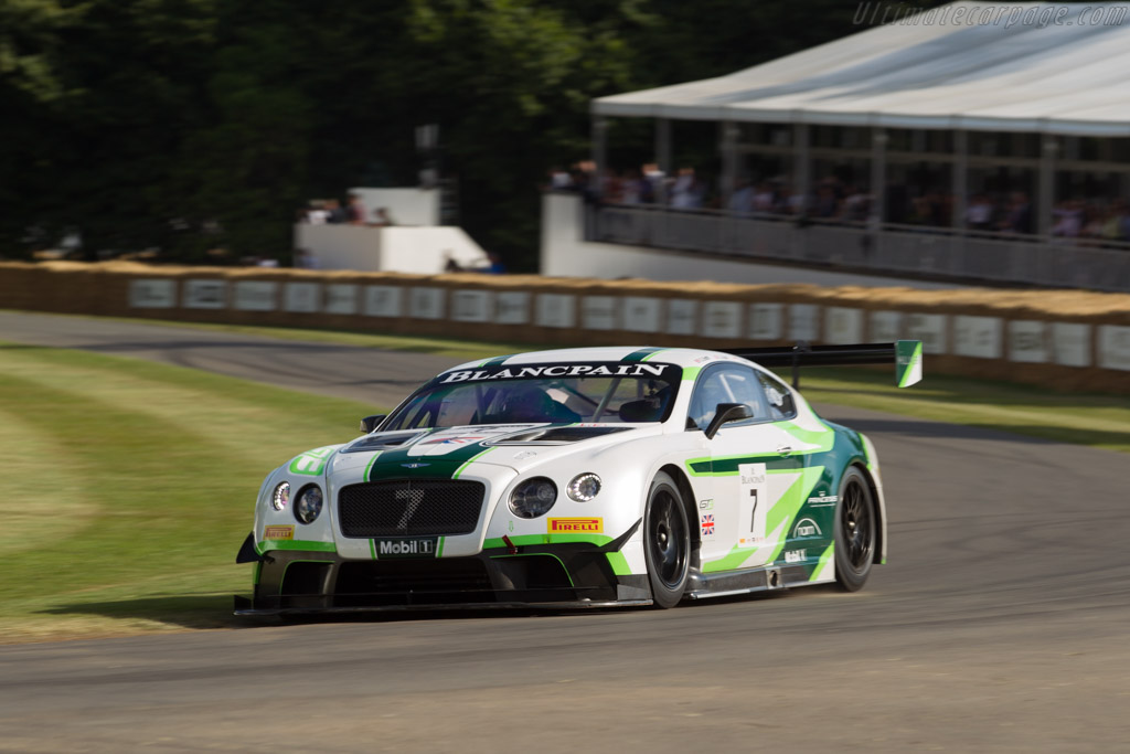 Bentley Continental GT3 - Chassis: 1 - Entrant: Bentley Motors  - 2017 Goodwood Festival of Speed