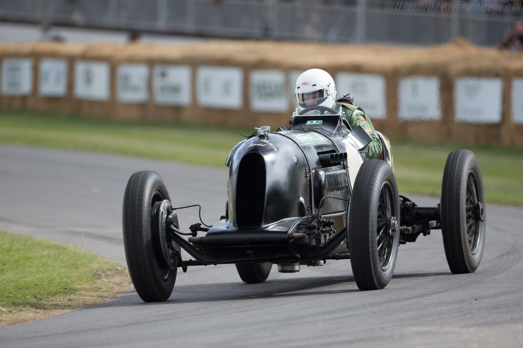 Bentley Pacey Hassan  - Entrant: Andreas Pohl - Driver: William Medcalf  - 2017 Goodwood Festival of Speed