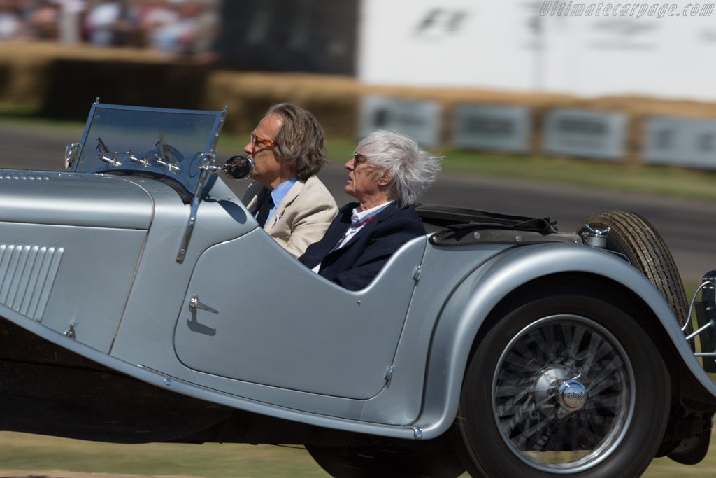 Bernie Ecclestone and Lord March    - 2017 Goodwood Festival of Speed