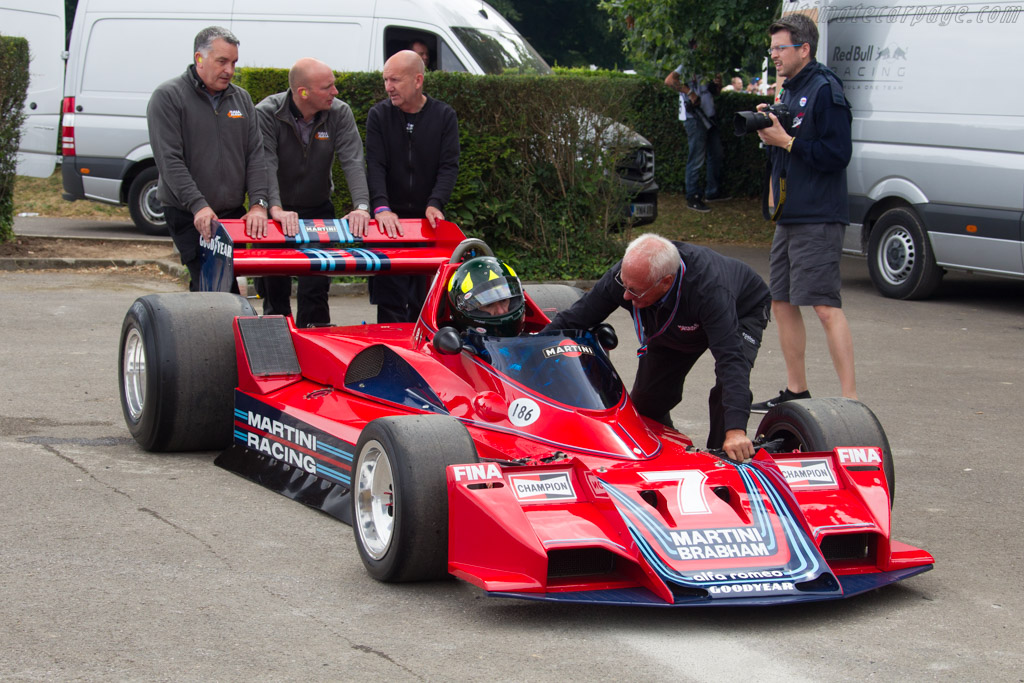 Brabham BT45 Alfa Romeo - Chassis: BT45-3 - Entrant: Bernie Ecclestone  - 2017 Goodwood Festival of Speed