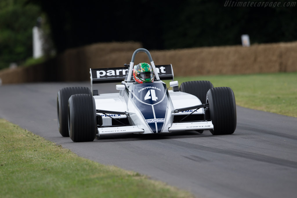 Brabham BT49 Cosworth - Chassis: BT49-10 - Driver: Joaquin Folch-Rossinol  - 2017 Goodwood Festival of Speed