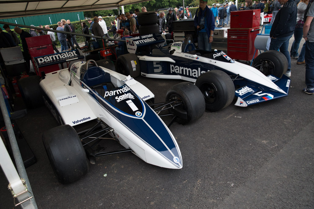 Brabham BT50 BMW - Chassis: BT50-1 - Entrant: Bernie Ecclestone  - 2017 Goodwood Festival of Speed