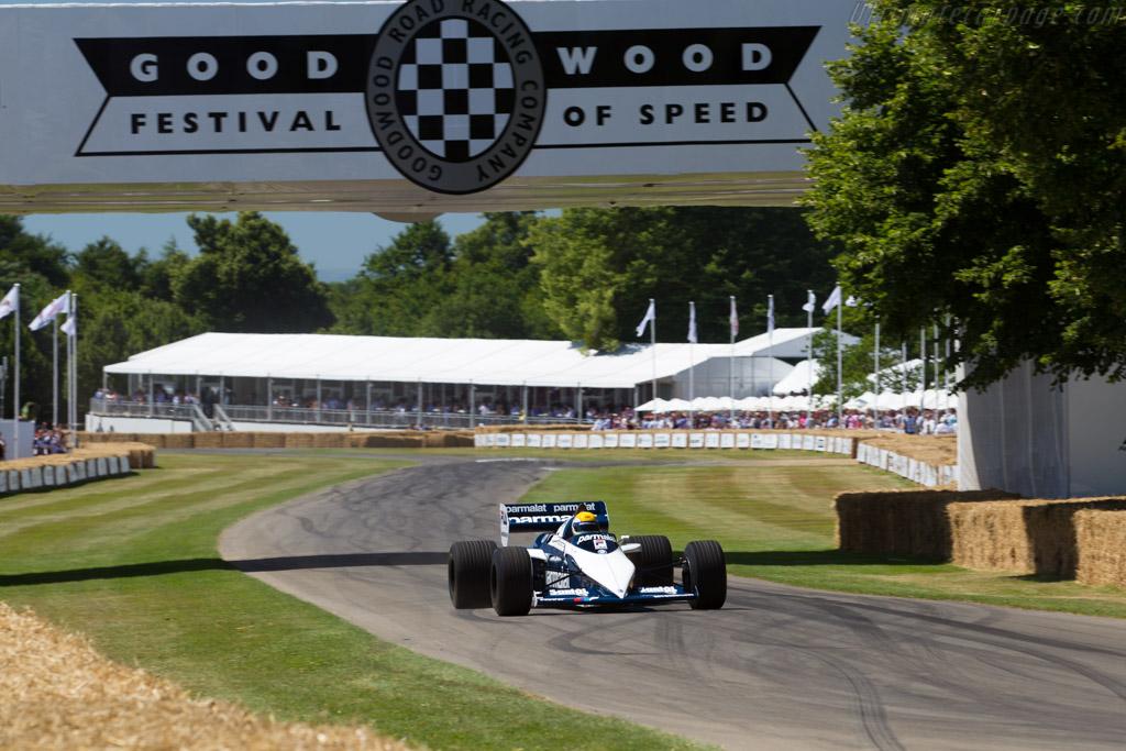 Brabham BT52 BMW - Chassis: BT52-1 - Entrant: BMW Group Classic - Driver: Pierluigi Martini  - 2017 Goodwood Festival of Speed