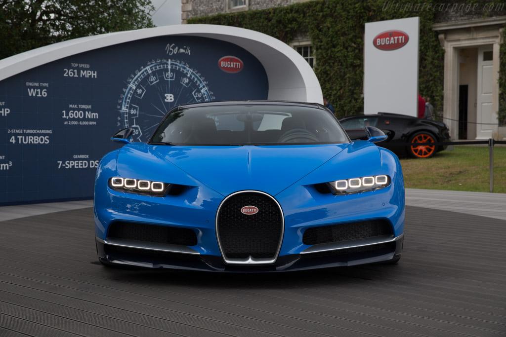 Bugatti Chiron    - 2017 Goodwood Festival of Speed