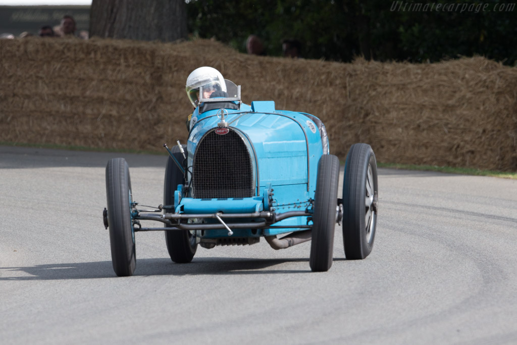 Bugatti Type 35B - Chassis: 4896 - Entrant / Driver Julian Majzub  - 2017 Goodwood Festival of Speed