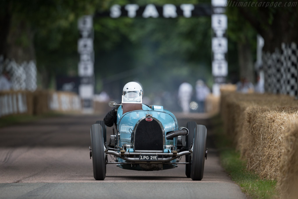 Bugatti Type 59 - Chassis: 59124 - Driver: Marc Newson  - 2017 Goodwood Festival of Speed