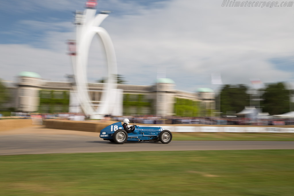 Bugatti Type 59/50B III - Chassis: 441352 - Driver: Peter Wiesner  - 2017 Goodwood Festival of Speed