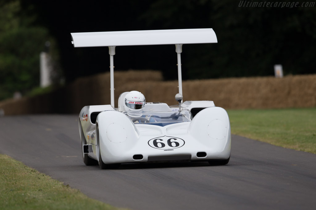Chaparral 2E  - Entrant: Jim Hall - Driver: Jim Hall Jr.  - 2017 Goodwood Festival of Speed